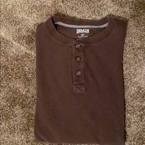 Duluth Trading Co thermal Henley